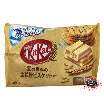 Kit Kat I Minis I Whole Wheat Flour Biscuit I 13er I 126g