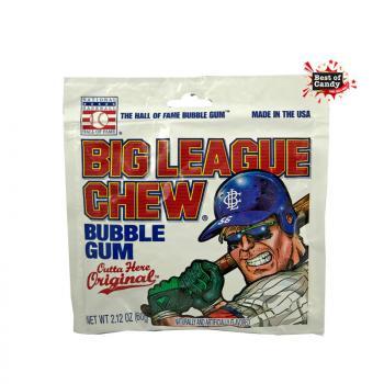 Original Big League Chew I Bubble Gum I 60g
