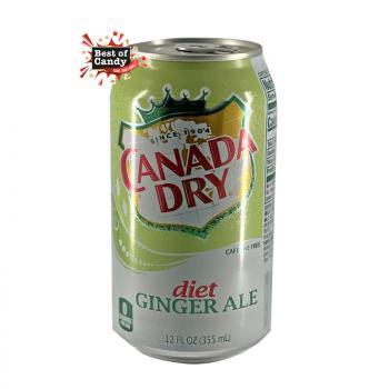 Canada Dry I Zero Ginger Ale  I 355ml