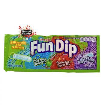 Fun Dip I 3 flavors I 39,6g