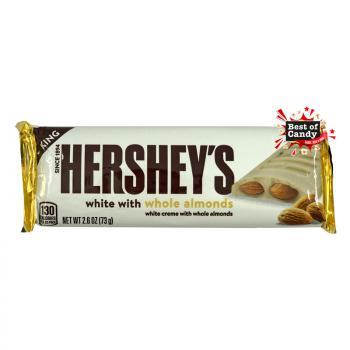 Hershey`s   White Milk Chocolate with Almond   41g