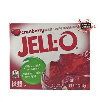 Jell-O I Cranberry I Gelatin Dessert I 85g