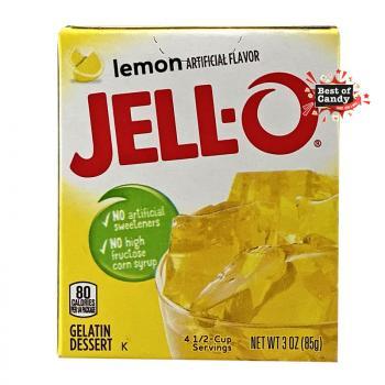 Jell-O I Lemon I Gelatin Dessert I 85g