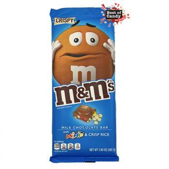 M&M I Chocolate Bar mit Minis & Rice Crispies  I 110g