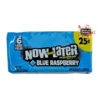 Now & Later | Chewy I Blue Raspberry I 26g
