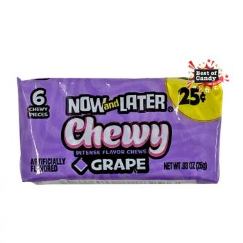 Now & Later | Chewy I Grape I 26g