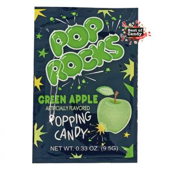 Pop Rocks I Green Apple Crackling Candy I 9.5g
