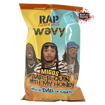 Rap Snacks I Migos Bar B Quin with my honey with a dab of Ranch I 78g