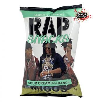 Rap Snacks I Migos I Sour Cream with a dub of Ranch I 78g