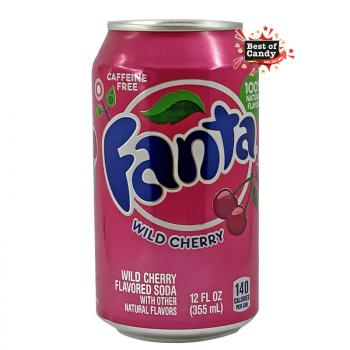 Fanta | Wild Cherry | 355ml