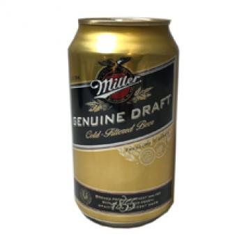 Miller Genuine Draft Beer | 355ml