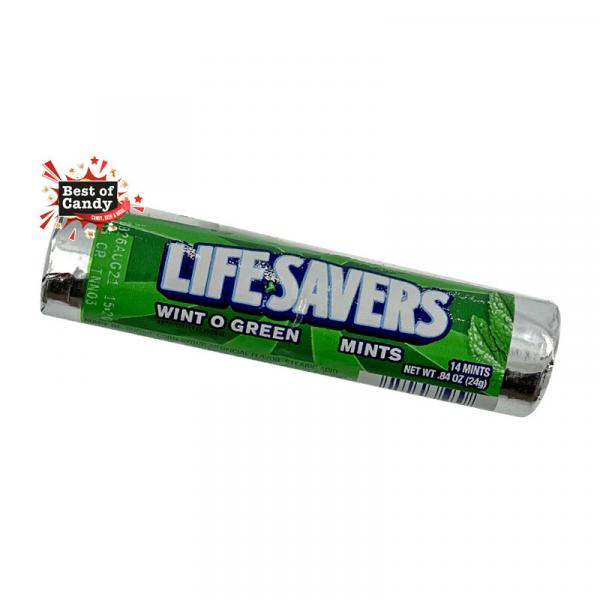 Life Savers I Wint o Green Rolle I 24g